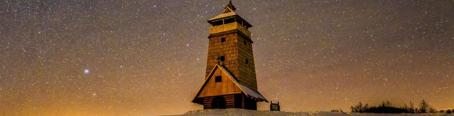 Čaro nočnej oblohy na Zbojskej
