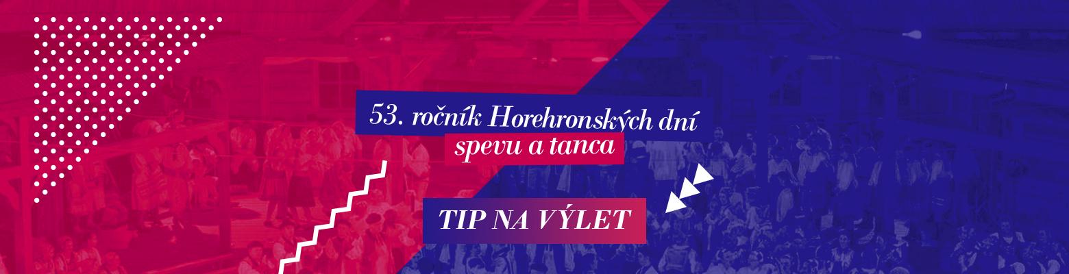 53. ročník Horehronských dní spevu a tanca. 22. – 24. jún – Heľpa