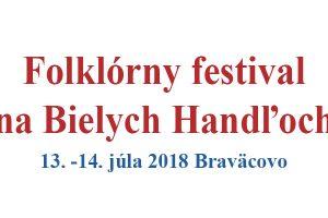 Folklórny festival na Bielych Handľoch 2018 – Braväcovo