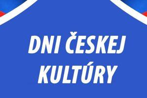 PROGRAM: Dni českej kultúry