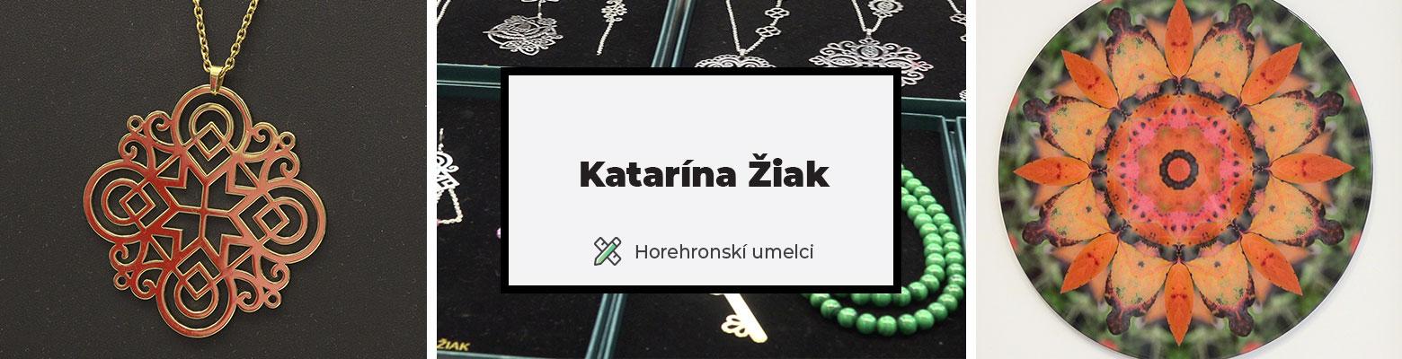 Katarína Žiak: Autorské šperky