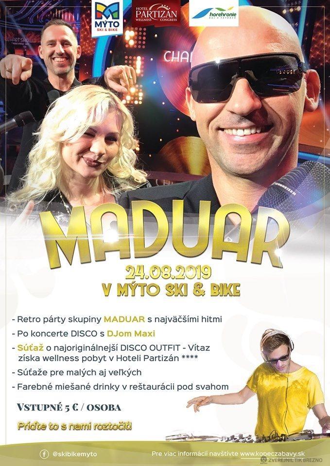 Maduar – Retro party