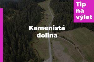 Kamenistá dolina – Tajch Hrončok