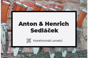 Anton & Henrich Sedláček : Lovecké nože