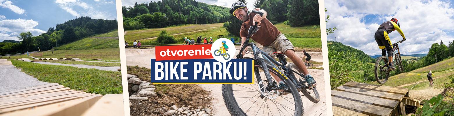 BIKE PARK v Mýte pod Ďumbierom otvoria aj majstri Slovenska. Aké novinky vás čakajú?